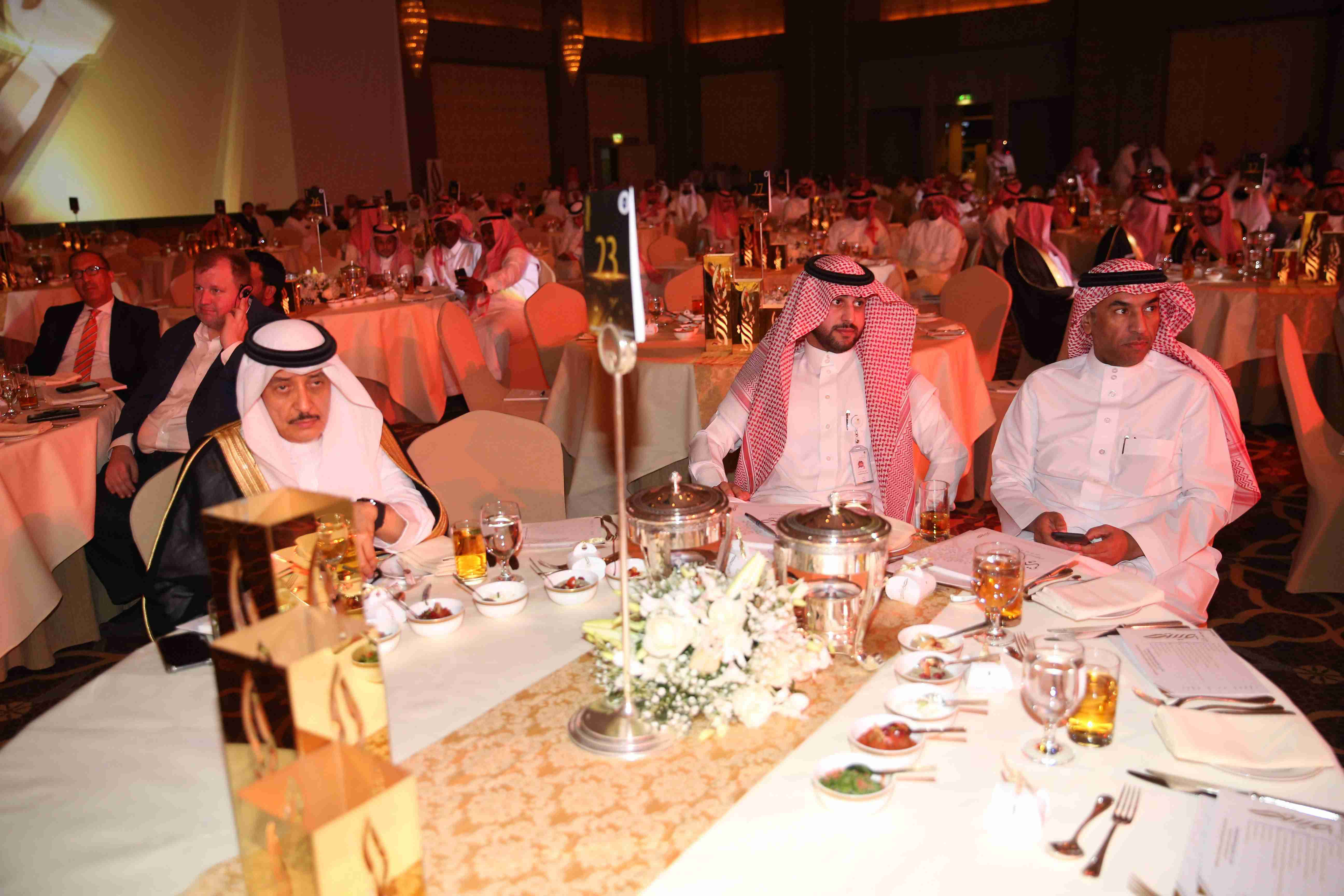 A ceremony to honor the winners with the Princess Seetah bint Abdulaziz Award for Excellence in Social Work